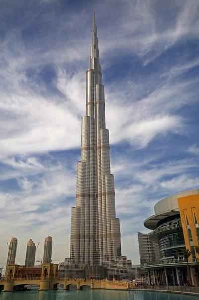 Бурдж Халифа – самый высокий небоскреб в мире. Бурдж Халифа – самый высокий 6