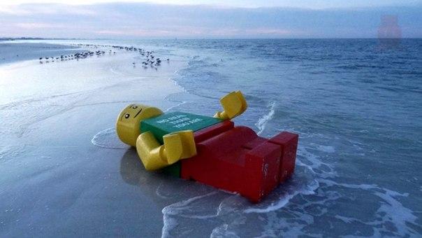 Чего только не находят люди на пляже!. Чего только не находят люди на 9