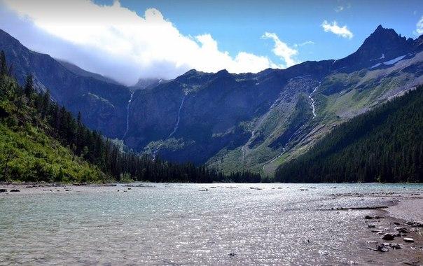 Озеро Флатхед – жемчужина скалистых гор в США