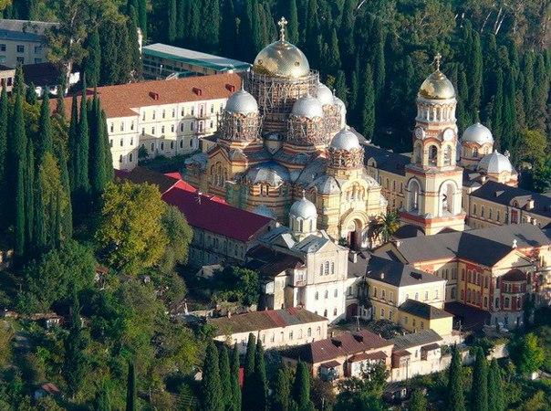 Новоафонский монастырь. Новоафонский монастырь 3