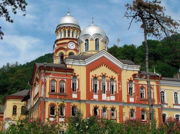 Новоафонский монастырь. Новоафонский монастырь 5