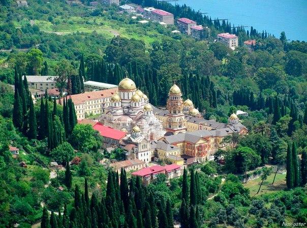 Новоафонский монастырь. Новоафонский монастырь 6