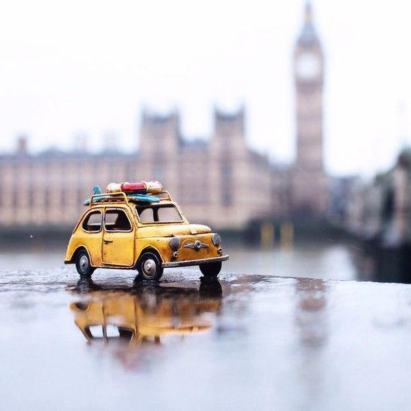 Путешествия миниатюрных рeтpoавтомобилeй. Путешествия миниатюрных 7