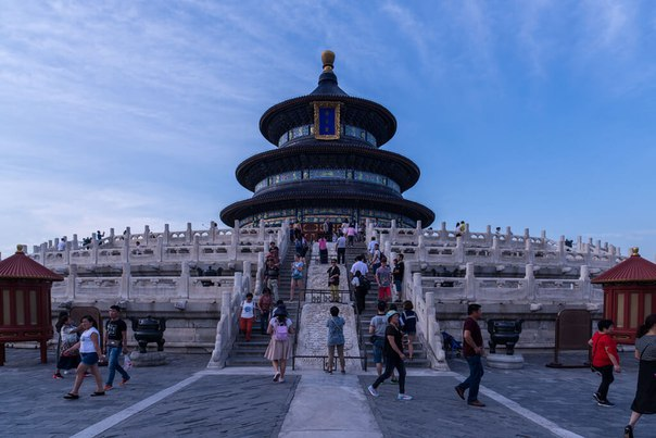 Храм Неба в Пекине. Храм Неба в Пекине 4