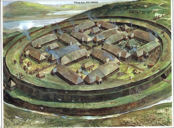 Кольцевая крепость Аггерсборг в Дании. Кольцевая крепость Аггерсборг 2