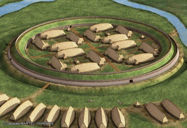 Кольцевая крепость Аггерсборг в Дании. Кольцевая крепость Аггерсборг 3