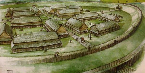 Кольцевая крепость Аггерсборг в Дании. Кольцевая крепость Аггерсборг 4