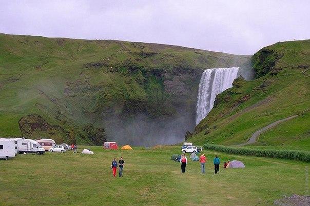 Водопад Скогафосс, Исландия. Водопад Скогафосс, Исландия 2