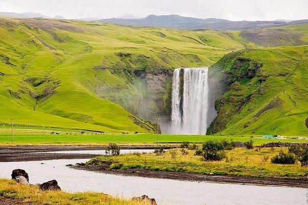 Водопад Скогафосс, Исландия. Водопад Скогафосс, Исландия 5
