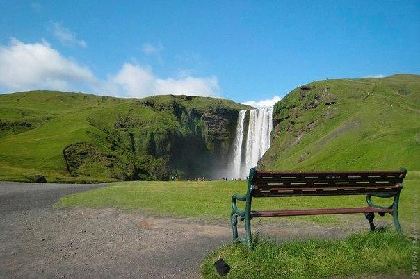 Водопад Скогафосс, Исландия. Водопад Скогафосс, Исландия 6