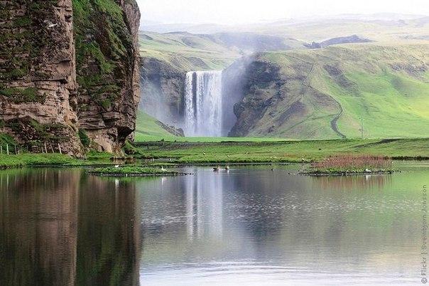 Водопад Скогафосс, Исландия. Водопад Скогафосс, Исландия 7