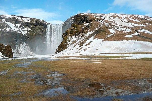 Водопад Скогафосс, Исландия. Водопад Скогафосс, Исландия 8