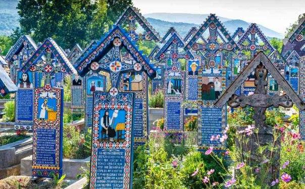 Самое счастливое кладбище в мире