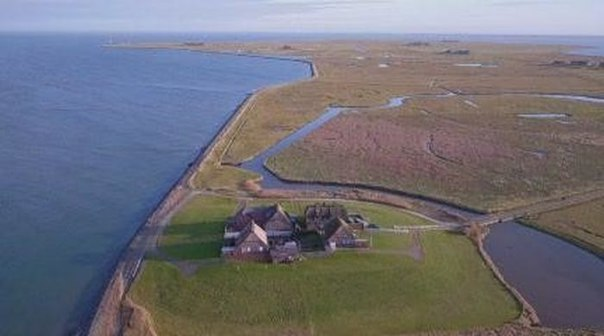 Халлиги - временные острова у побережья Северного моря. Халлиги - временные острова у 5