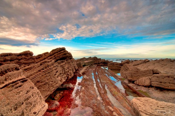 Турбидиты на побережье города Баррика (Испания). Турбидиты на побережье города 2