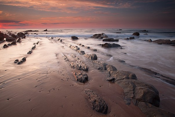 Турбидиты на побережье города Баррика (Испания). Турбидиты на побережье города 3