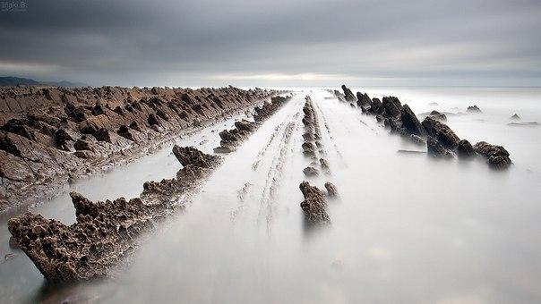 Турбидиты на побережье города Баррика (Испания). Турбидиты на побережье города 6