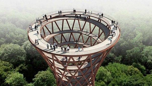 Спиральная башня для пеших прогулок. Спиральная башня для пеших 5