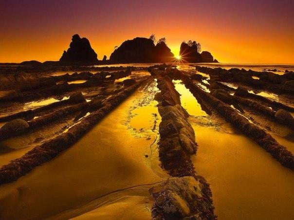 Турбидиты на побережье города Баррика (Испания). Турбидиты на побережье города 9