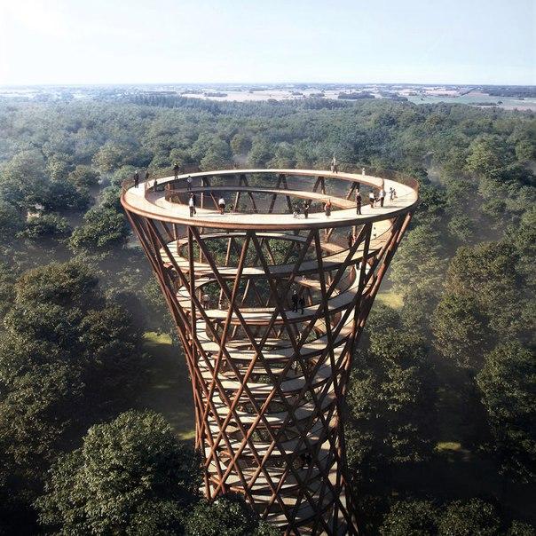 Спиральная башня для пеших прогулок. Спиральная башня для пеших 6