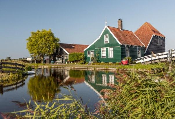 Деревня Заансе-Сханс, Нидерланды