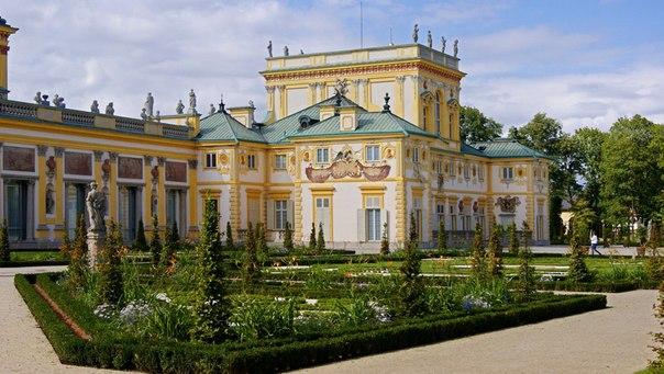 Вилянувский дворец, Варшава, Польша. Вилянувский дворец, Варшава 1