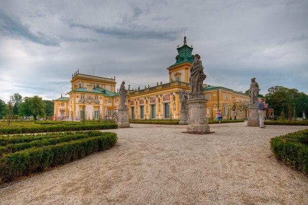 Вилянувский дворец, Варшава, Польша. Вилянувский дворец, Варшава 2