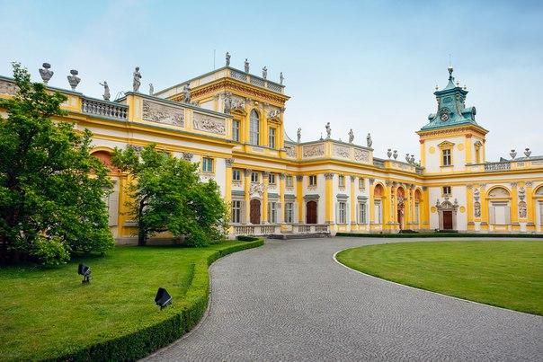 Вилянувский дворец, Варшава, Польша. Вилянувский дворец, Варшава 3