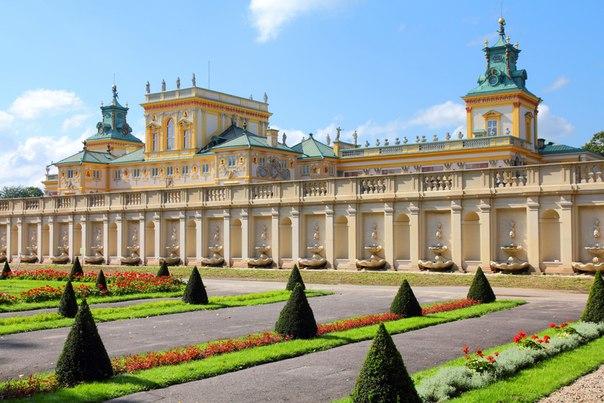 Вилянувский дворец, Варшава, Польша. Вилянувский дворец, Варшава 4