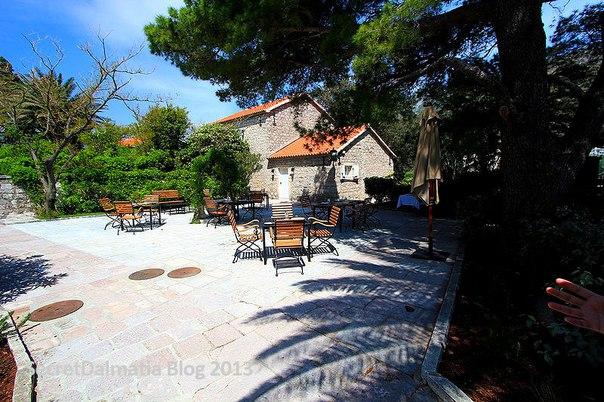 Остров-отель Святой Стефан, Черногория. Остров-отель Святой Стефан 2