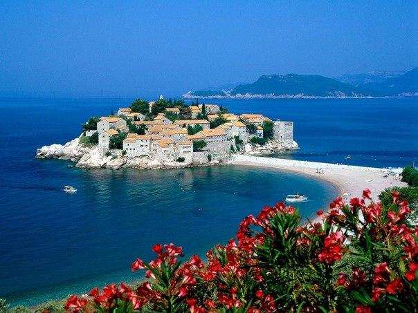 Остров-отель Святой Стефан, Черногория. Остров-отель Святой Стефан 4