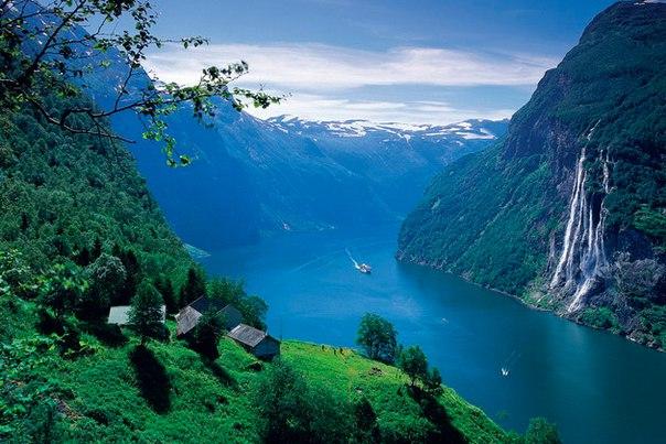 Фьорды Норвегии. Фьорды Норвегии 7