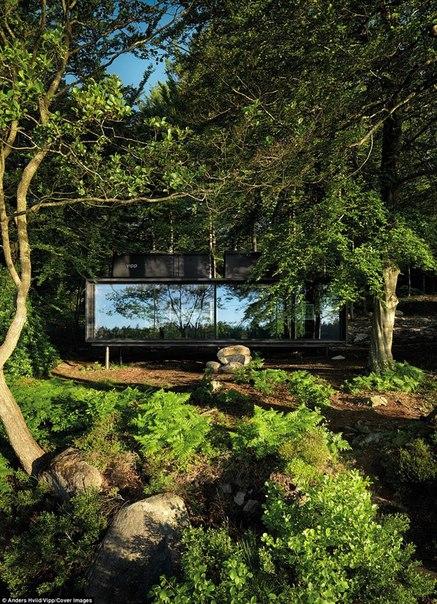 В Дании создали «станцию для перезарядки людей» и она сделана из стекла и стали. В Дании создали «станцию для 5