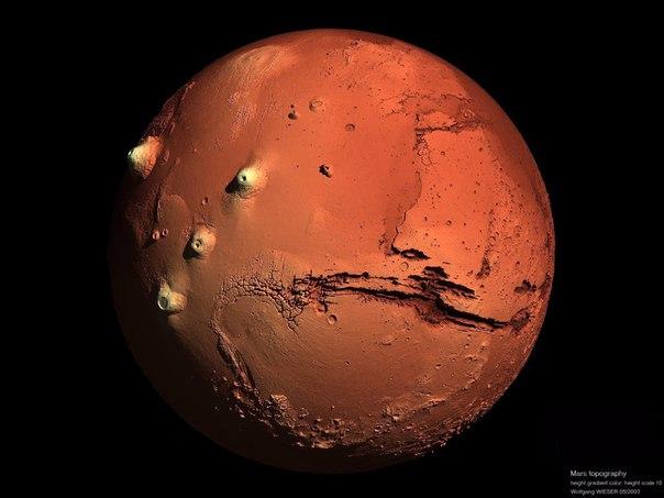 Как выглядит Марс с близкого расстояния: новое фото телескопа