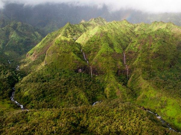 Водопад Хонокохау — доисторические пейзажи эпохи динозавров. Водопад Хонокохау — 2