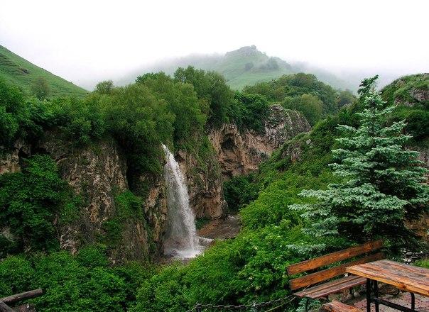 Медовые водопады, Кавминводы, Россия