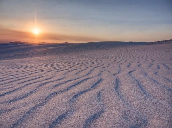 Пустыня Белых Песков в Нью-Мексико. Пустыня Белых Песков в 2