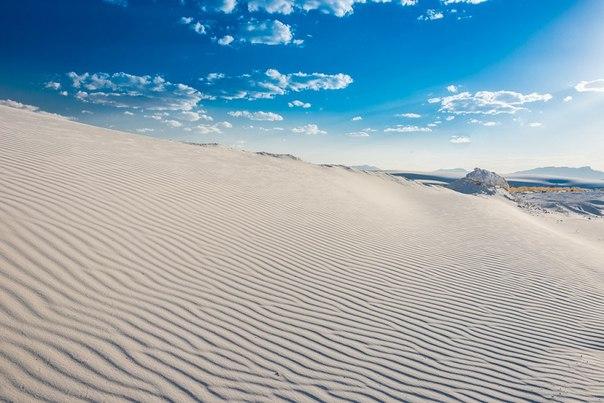 Пустыня Белых Песков в Нью-Мексико. Пустыня Белых Песков в 3