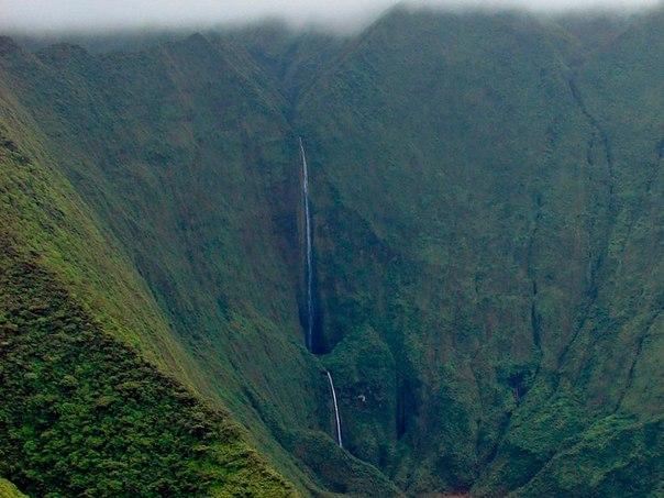 Водопад Хонокохау — доисторические пейзажи эпохи динозавров. Водопад Хонокохау — 6