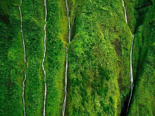 Водопад Хонокохау — доисторические пейзажи эпохи динозавров. Водопад Хонокохау — 9