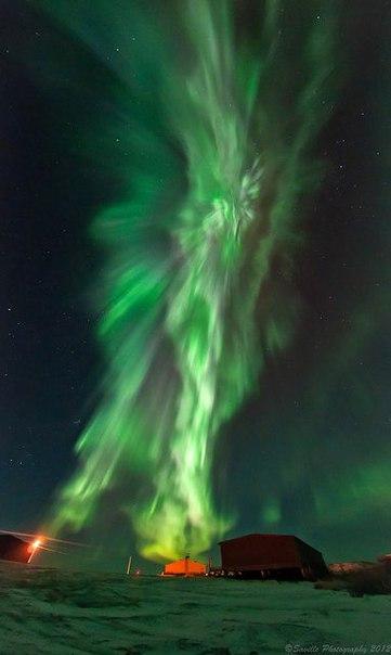Северное сияние – одно из самых потрясающих природных явлений