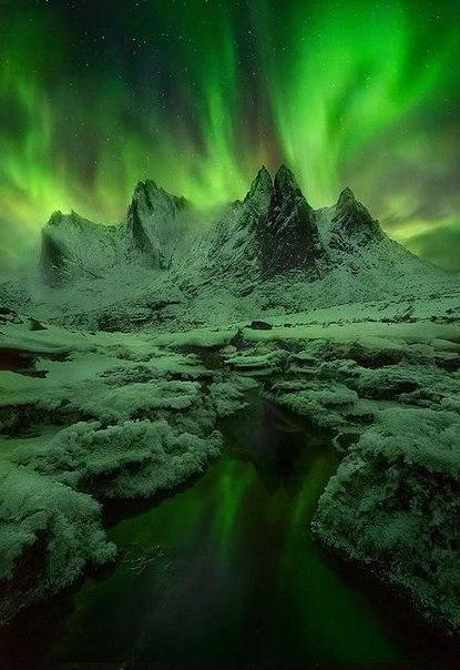 Северное сияние – одно из самых потрясающих природных явлений. Северное сияние – одно из 1