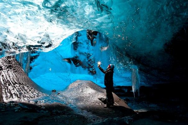 Ледяные пещеры ледника Ватнайёкюдль, Исландия. Ледяные пещеры ледника 5