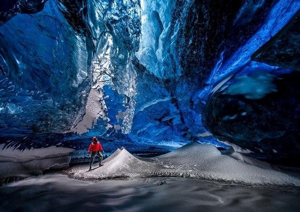 Ледяные пещеры ледника Ватнайёкюдль, Исландия. Ледяные пещеры ледника 7