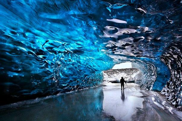 Ледяные пещеры ледника Ватнайёкюдль, Исландия. Ледяные пещеры ледника 9
