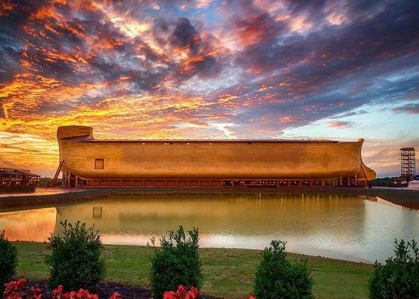 В США построили Ноев Ковчег в натуральную величину