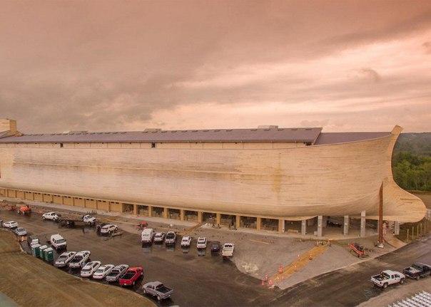 В США построили Ноев Ковчег в натуральную величину. В США построили Ноев Ковчег в 2
