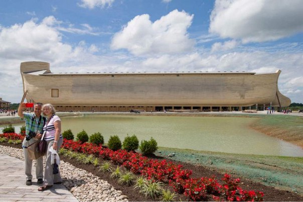 В США построили Ноев Ковчег в натуральную величину. В США построили Ноев Ковчег в 5