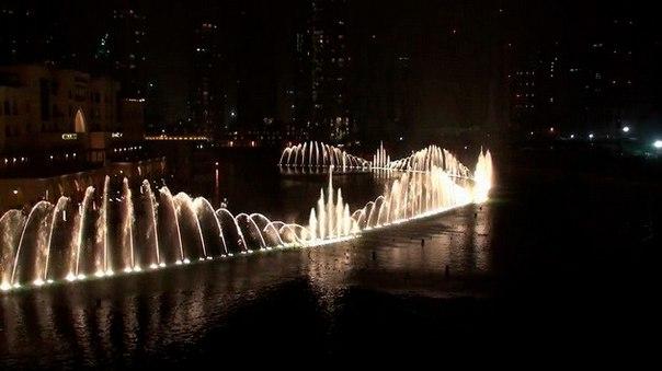 Фонтан Дубай – самый большой фонтан в мире. Фонтан Дубай – самый большой 1