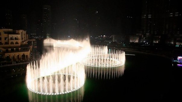 Фонтан Дубай – самый большой фонтан в мире. Фонтан Дубай – самый большой 2